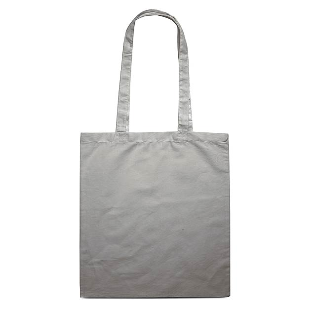 Bavlněná nákupní taška - COTTONEL COLOUR - šedá