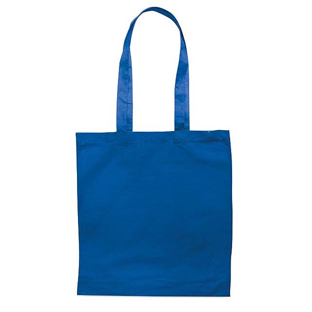 Bavlněná nákupní taška - COTTONEL COLOUR - královsky modrá