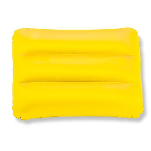 Beach pillow  - yellow