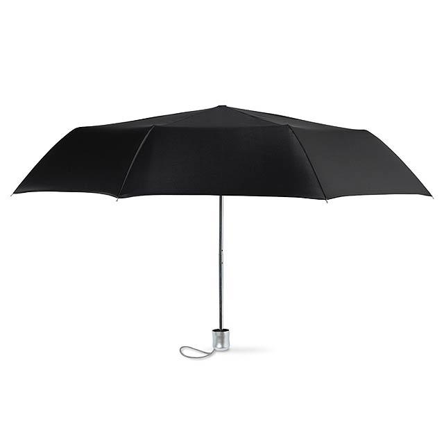 Mini deštník v pouzdře - černá