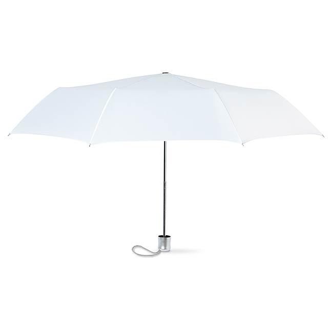 Mini deštník v pouzdře  - bílá