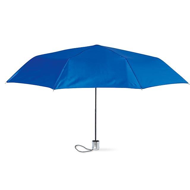 Mini deštník v pouzdře  - královsky modrá