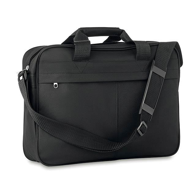 Attaché - taška na dokumenty - černá