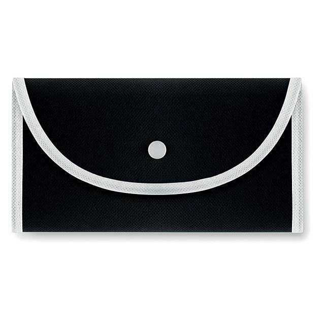 FOLDONOVA - Skládací nákupní taška         - černá