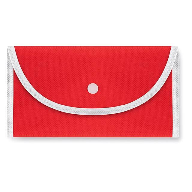 Foldable - skládací nákupní taška - červená
