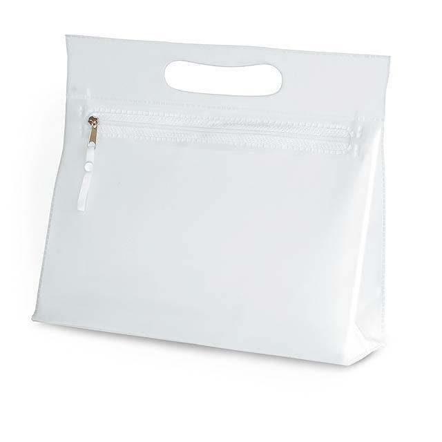 Transparent - kosmetická taštička - transparentní
