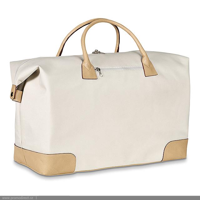 c1e1e6e56c9e4 Elegance - elegantné cestovná taška - béžová, Reklamné predmety ...