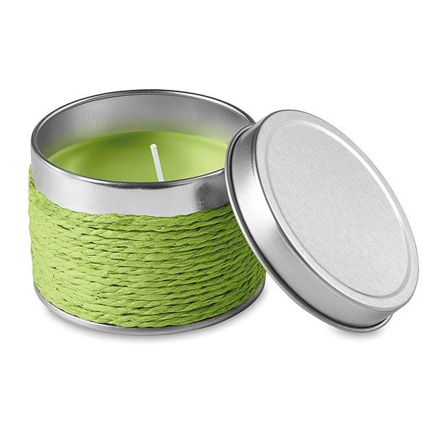Vonná svíčka  - citrónová - limetková
