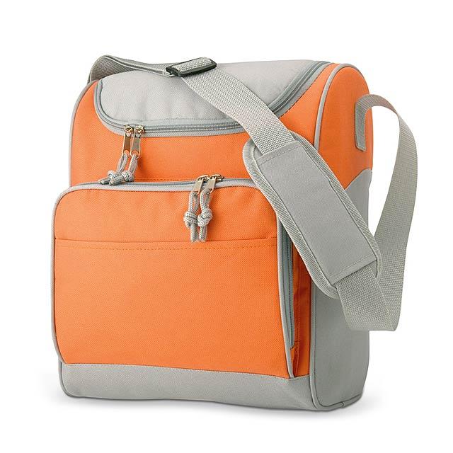 Chladící taška - oranžová