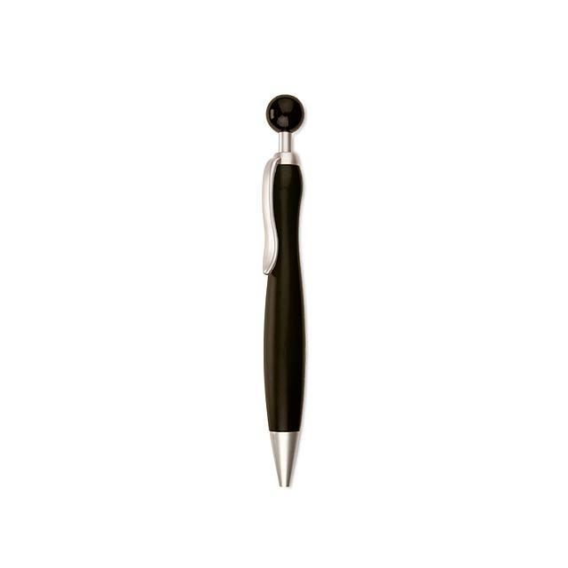 Plastové kuličkové pero - propiska - černá