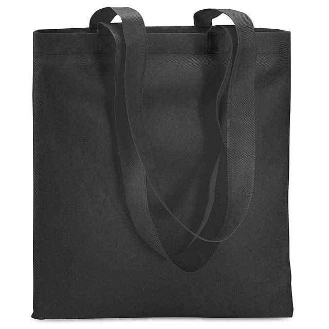 Shopping bag in Non woven  - black