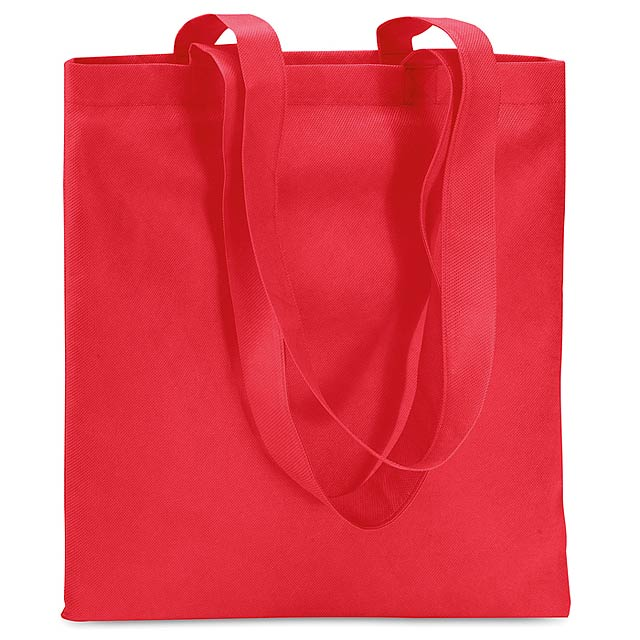 Shopping bag in Non woven  - red