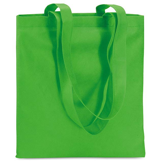 Shopping bag in Non woven  - green