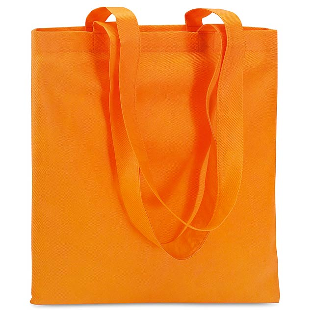 Shopping bag in Non woven  - orange