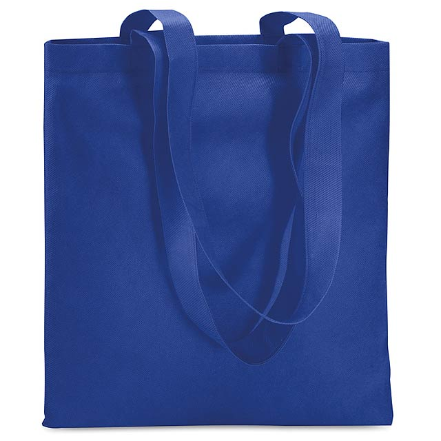 Shopping bag in Non woven  - royal blue