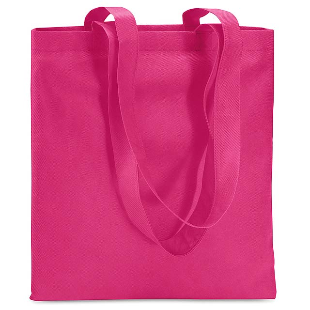 Shopping bag in nonwoven  - fuchsia