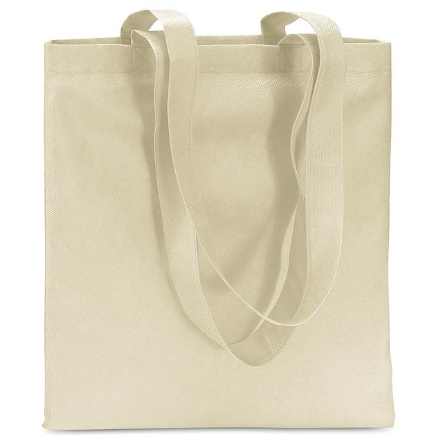 Shopping bag in Non woven  - ivory