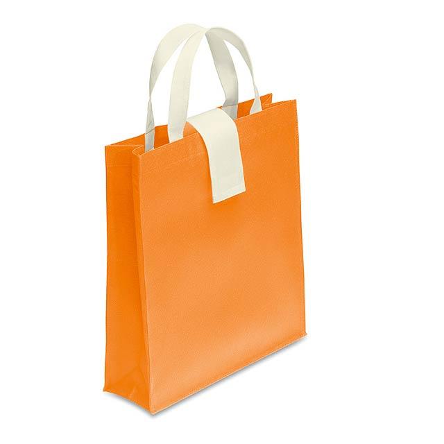 Nonwoven Einkaufstasche - Orange