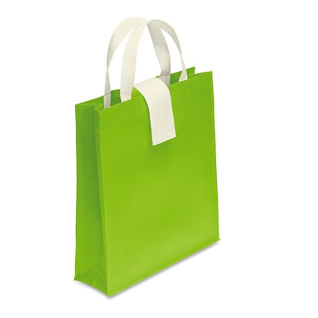 Nákupní taška - FOLBY - citrónová - limetková