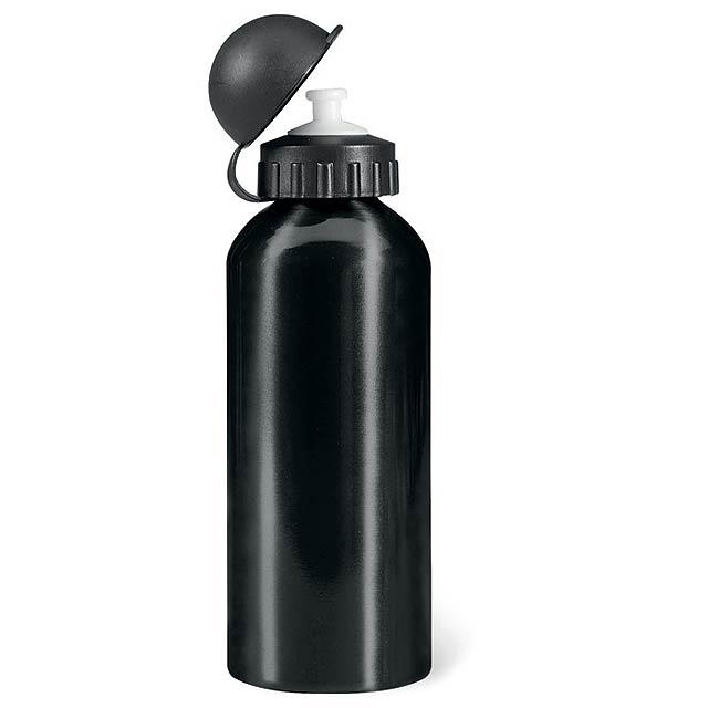 BISCING - Hliníková láhev                - černá