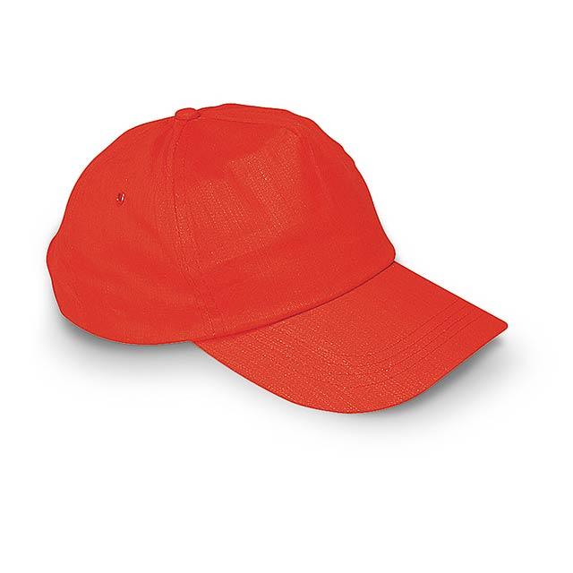 Kšiltovka - červená