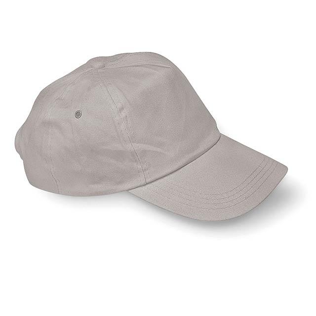 Čepice s kšiltem - GLOP CAP - šedá