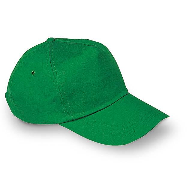 Klasická baseballová čepice  - zelená - foto
