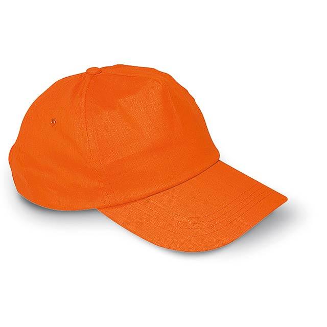 Kšiltovka - oranžová