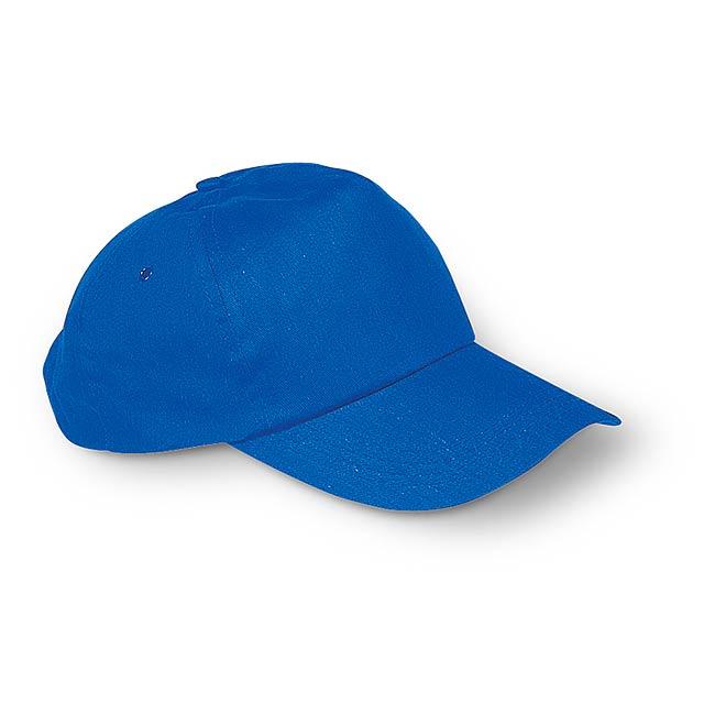 Kšiltovka - královsky modrá