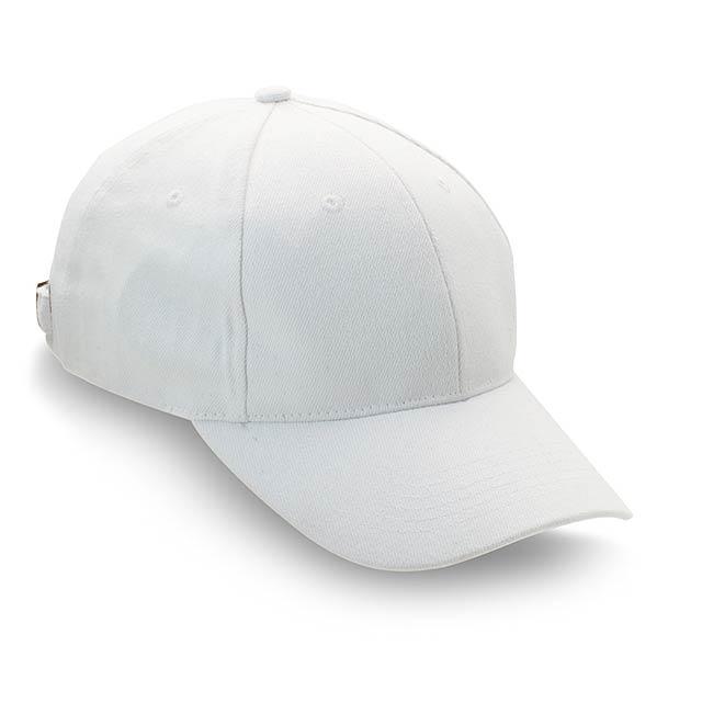 Kšiltovka - bílá
