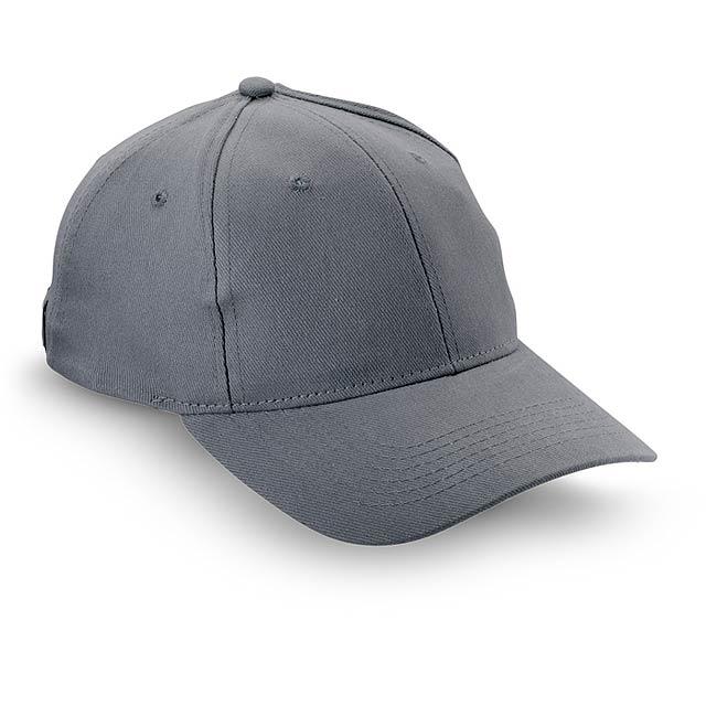 Čepice s kšiltem - NATUPRO - šedá