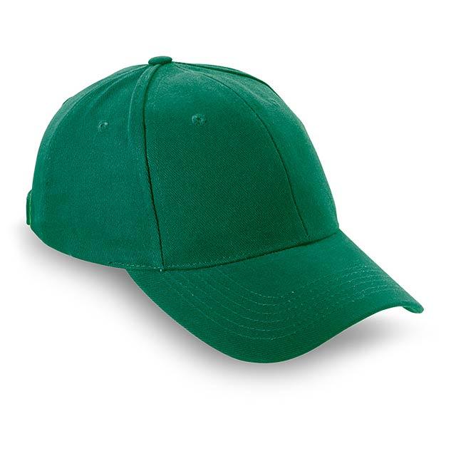 Čepice s kšiltem - NATUPRO - zelená