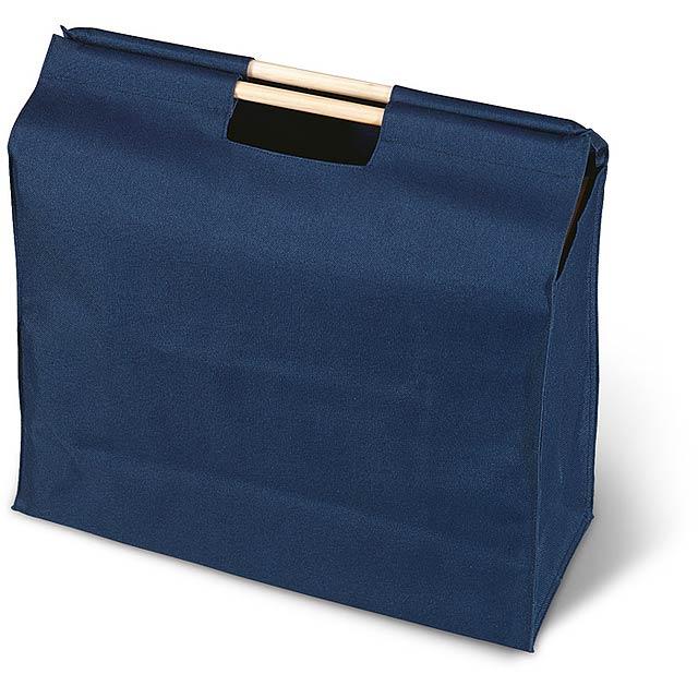 Nákupní taška. 600D polyester. - modrá - foto