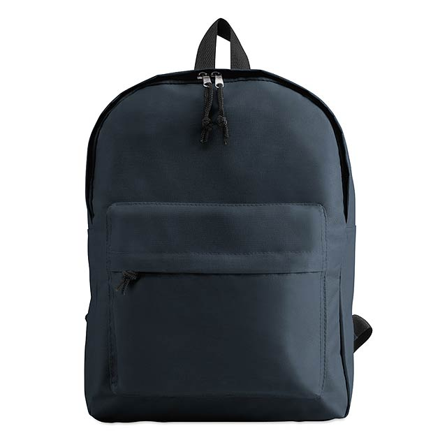Batoh s vnější kapsou  - modrá