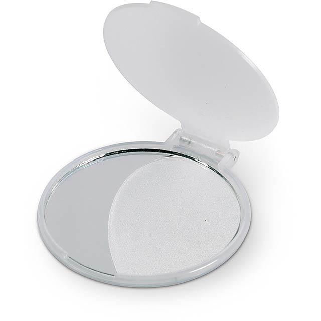 Zrcátko - transparentní bílá