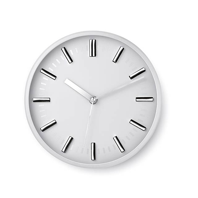 Round shape wall clock  - white
