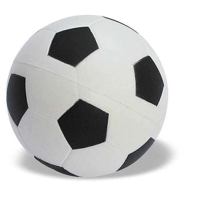 Antistresový míček - bílá/černá