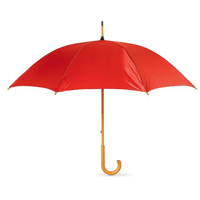 Deštník klasický - červená