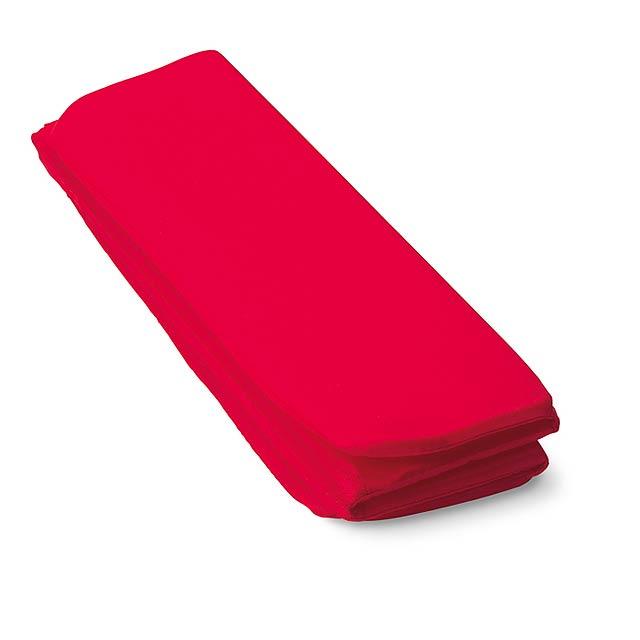 Sedací rohožka - červená