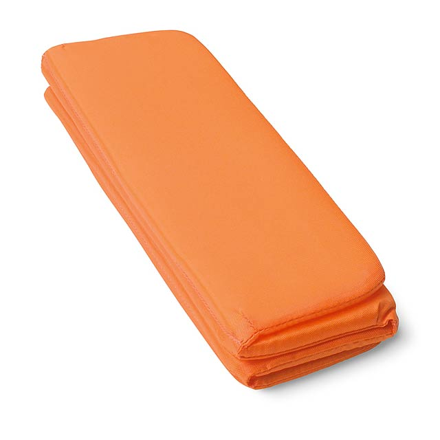 Sedací rohožka - oranžová