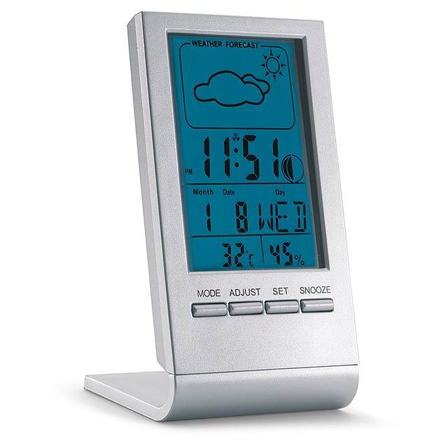 Indikátor počasia - strieborná