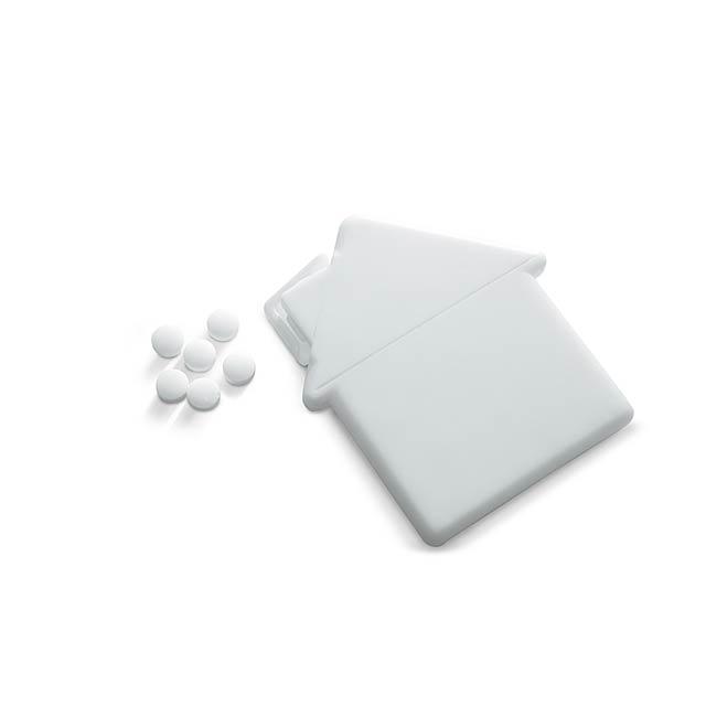 House mint dispenser  - white