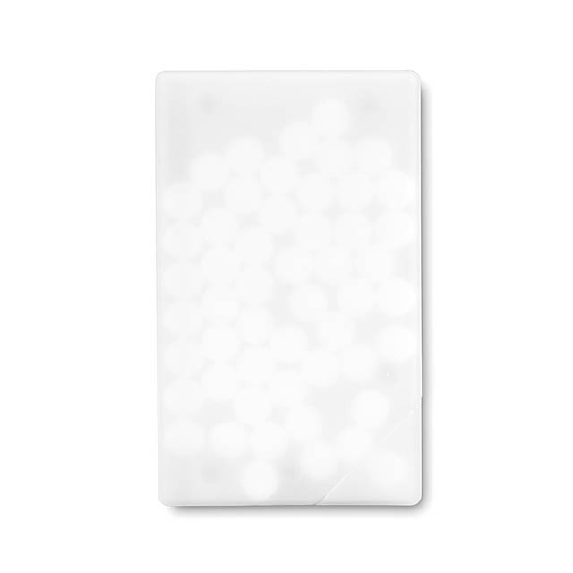 Creditcard mint dispenser  - white