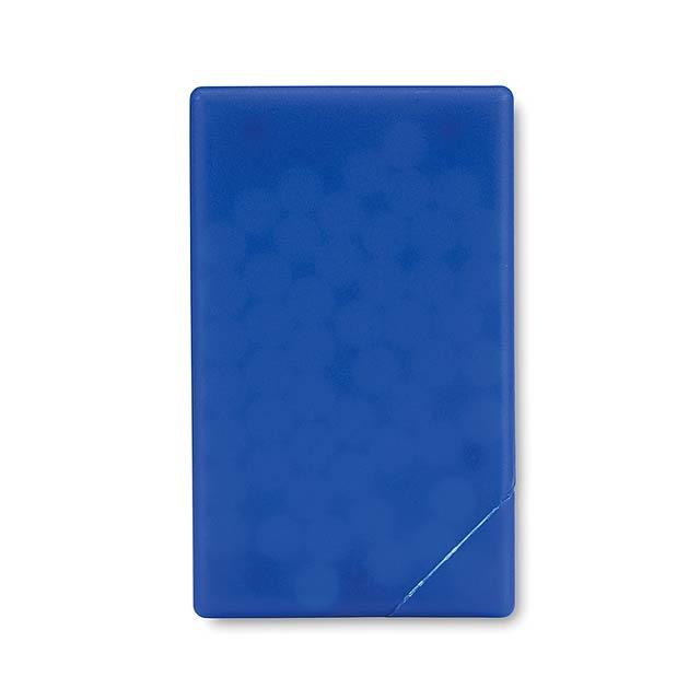 Creditka mentolky - transparentná modrá