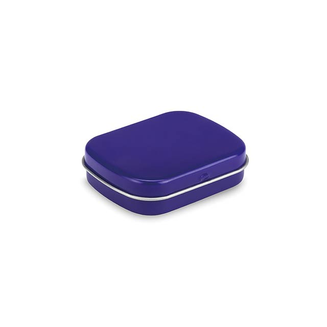 Easy tin with mints  - blue
