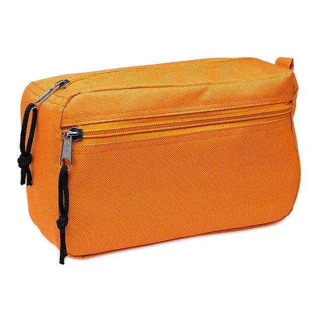 Kosmetická taška - oranžová