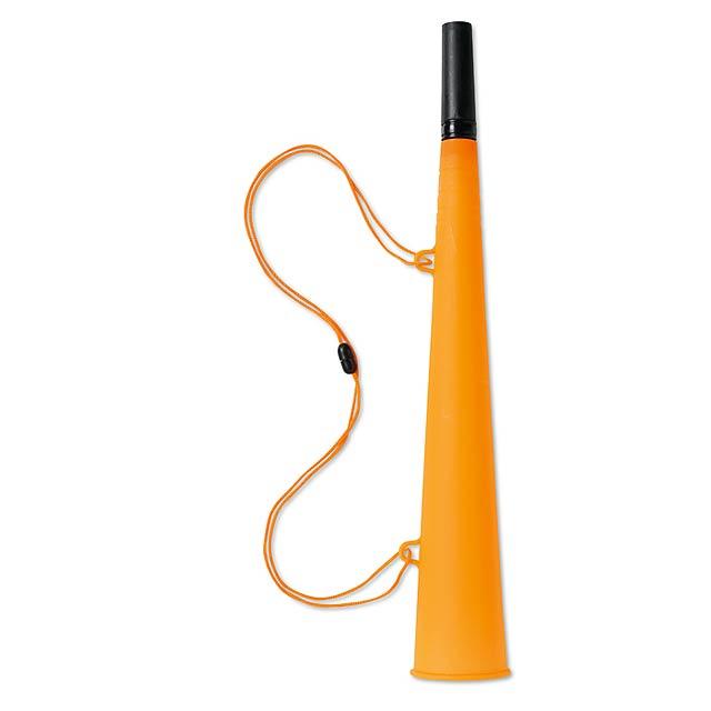 Trubka se šňůrkou  - oranžová