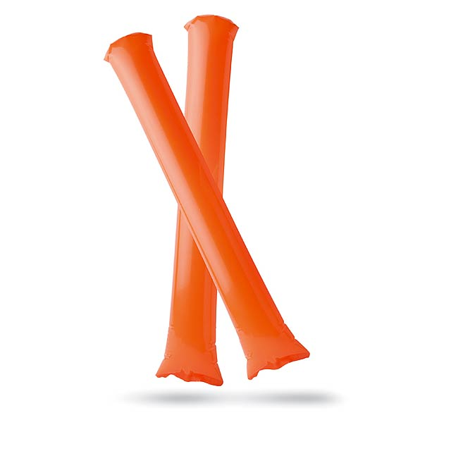 Inflatable cheering stick  - orange