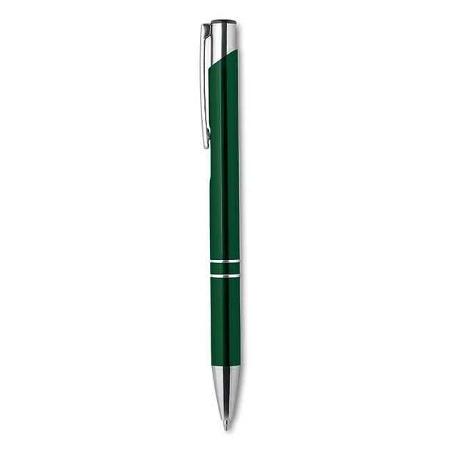 Push button pen with black ink KC8893-09 - green