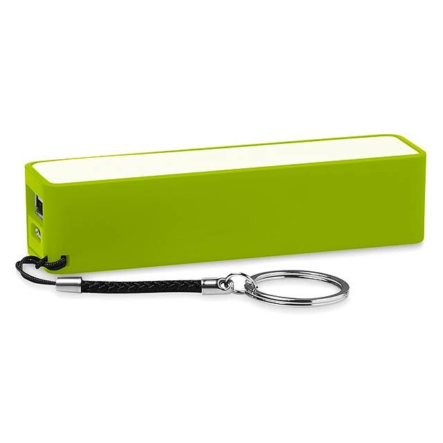Slim PowerBank 2200mAh - Powermate - citrónová - limetková